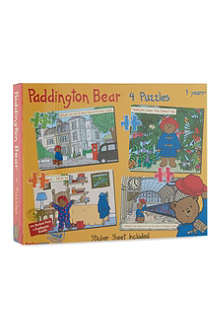 PADDINGTON BEAR Paddington Bear 4-in-1 puzzle set