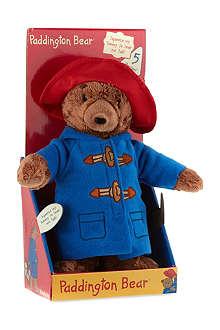 PADDINGTON BEAR Talking Paddington Bear plush toy