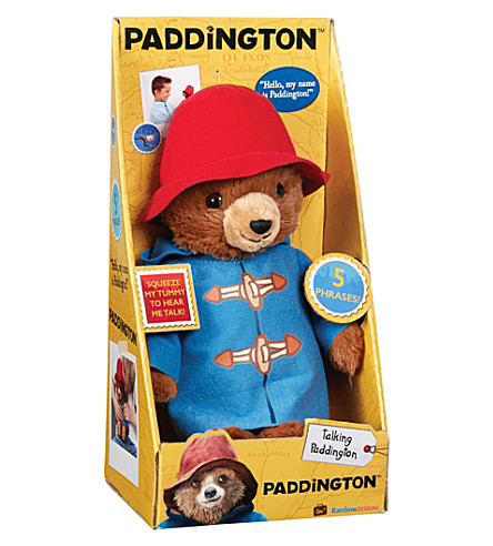 PADDINGTON BEAR Paddington Movie talking soft toy