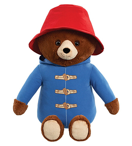 PADDINGTON BEAR Giant Movie Paddington plush bear 52cm
