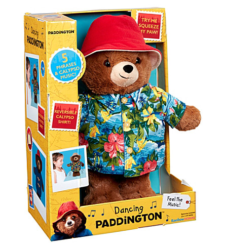 PADDINGTON BEAR Dancing Paddington Bear