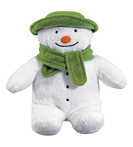 SNOWMAN & THE SNOWDOG The Snowman bean bag soft toy