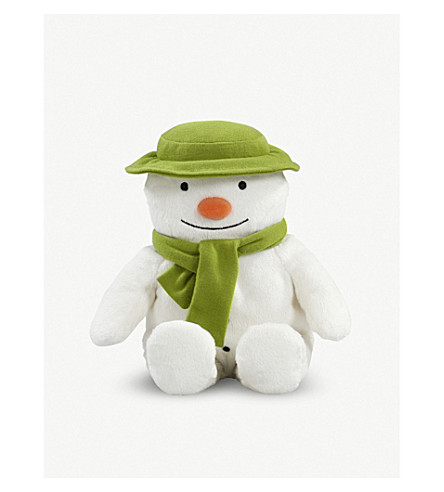 SNOWMAN & THE SNOWDOG The Snowman Cuddly Snowman soft toy