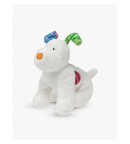 SNOWMAN & THE SNOWDOG The Snowdog bean bag soft toy