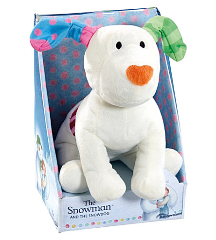 SNOWMAN & THE SNOWDOG The Snowdog soft toy
