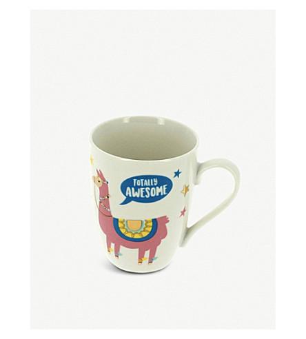 UNICORN UNIVERSE The Don't Care Club porcelain mug