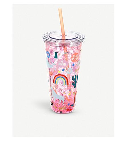 UNICORN UNIVERSE Unicorn beaker & straw