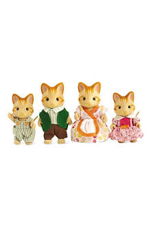 SYLVANIAN FAMILIES Ginger cat family