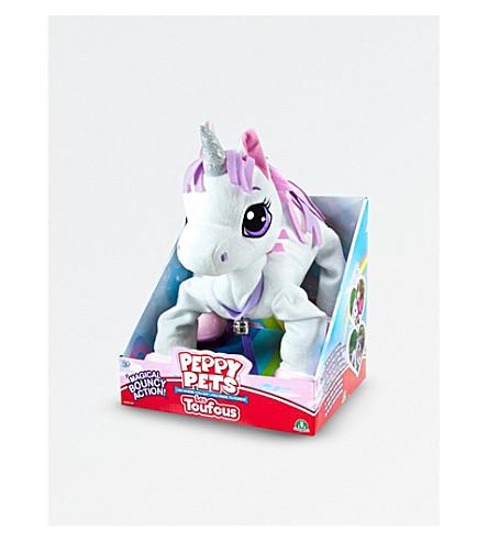 UNICORN UNIVERSE Peppy Pets unicorn toy