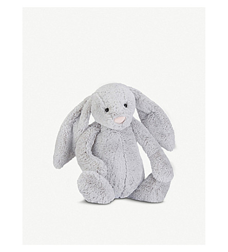 JELLYCAT Bashful plush silver bunny huge