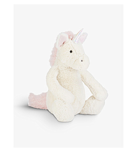 JELLYCAT Bashful unicorn large soft toy 31cm