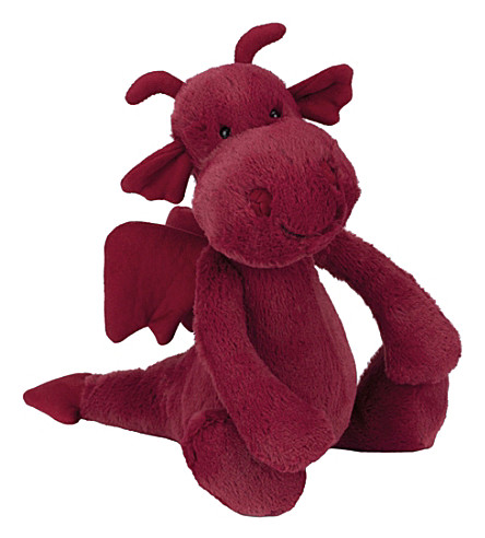 JELLYCAT Bashful Dragon medium soft toy 26cm