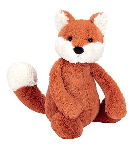 JELLYCAT Bashful Fox cub soft toy medium 31cm