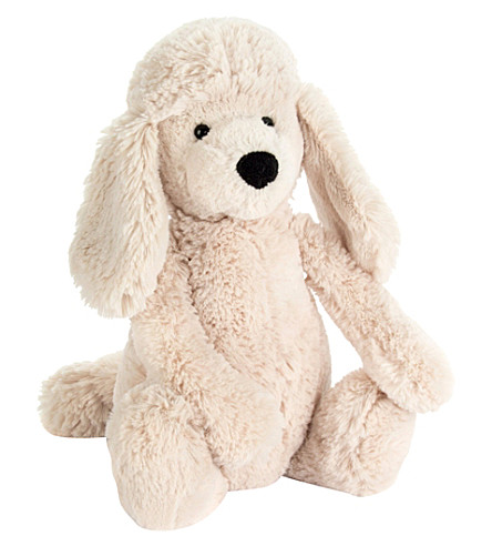 JELLYCAT Bashful Poodle Pup soft toy medium 31cm