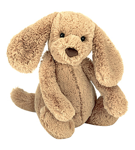 JELLYCAT Bashful Toffee Puppy soft toy medium 31cm
