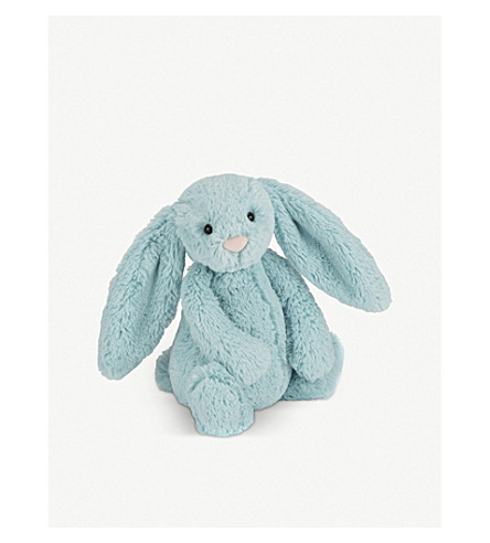 JELLYCAT Bashful aqua bunny small soft toy 18cm