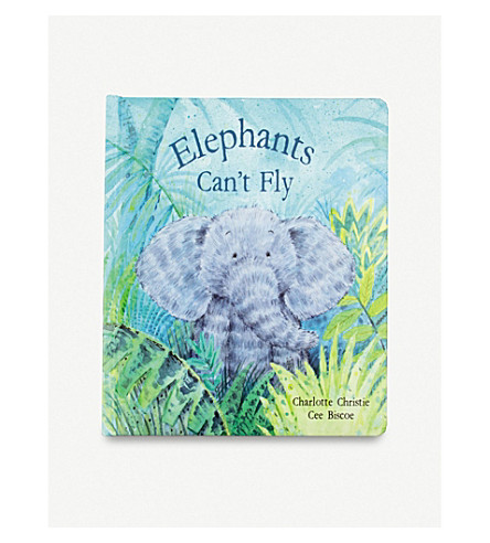 JELLYCAT Elephants Can't Fly story book