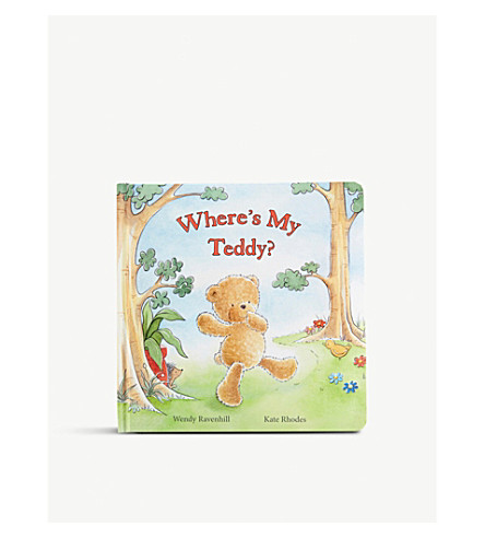 JELLYCAT Jellycat where's my teddy book