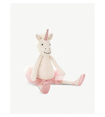 JELLYCAT Dancing Darcey unicorn soft toy