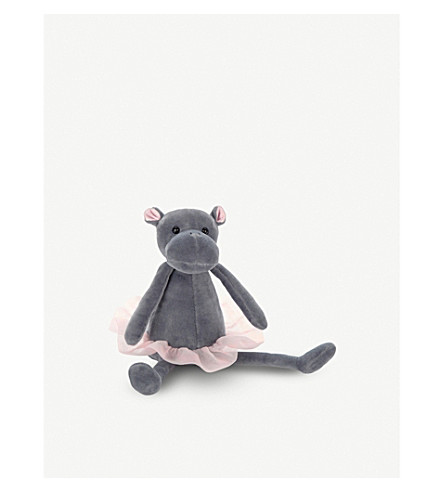 JELLYCAT Dancing Darcey hippo soft toy 23cm