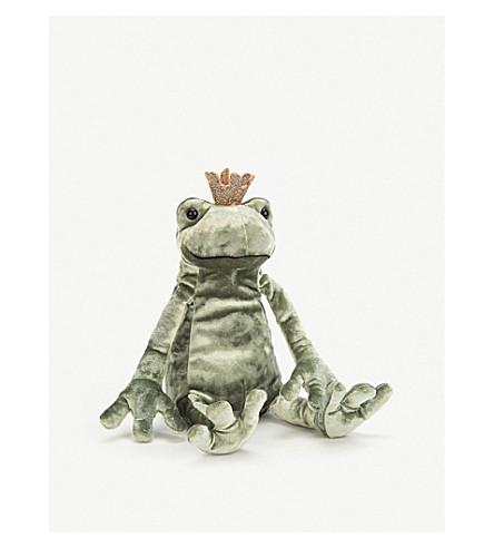 JELLYCAT 青蛙王子亲吻柔和玩具