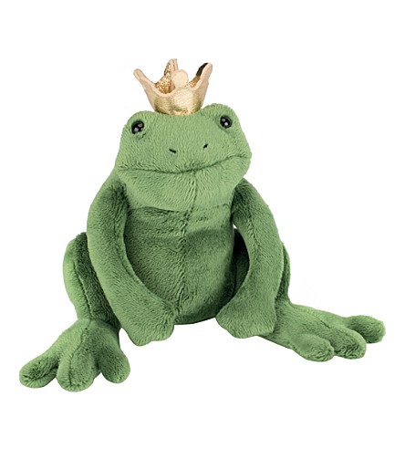 JELLYCAT Frederick the frog prince soft toy 12cm