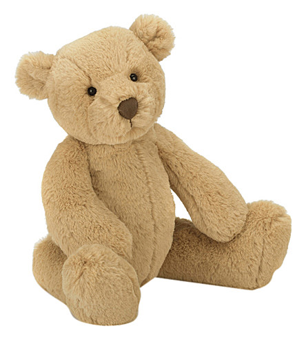 JELLYCAT Butterscotch bear medium soft toy 35cm