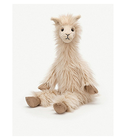 JELLYCAT Luis Llama soft toy 45cm
