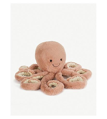 JELLYCAT 奥德尔章鱼真大柔和玩具75厘米