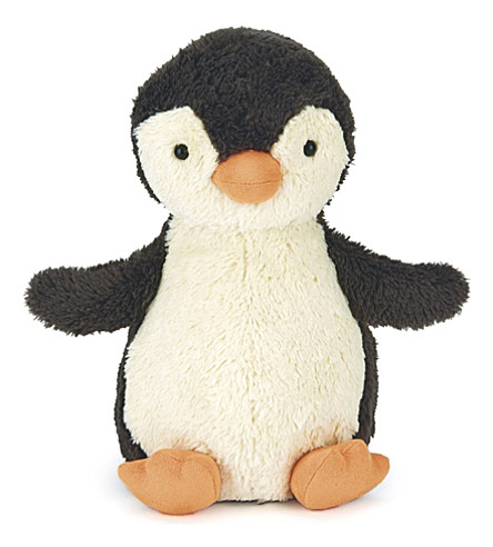 JELLYCAT Peanut Penguin medium plush toy 23cm