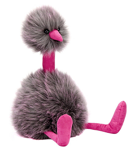 JELLYCAT Pompom Bird soft toy 33cm