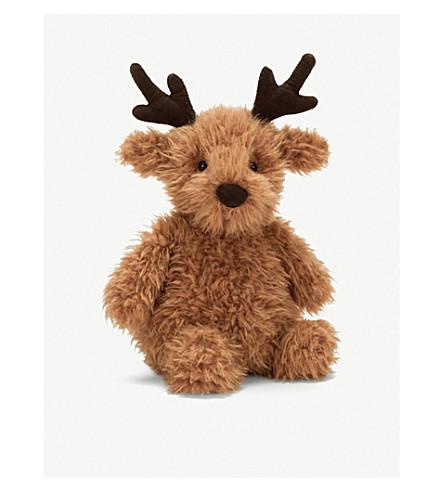 JELLYCAT 布丁驯鹿柔和玩具30 厘米