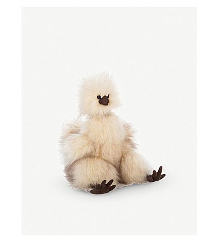 JELLYCAT Silkie Chicken soft toy 24cm