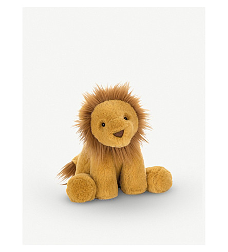 JELLYCAT Smudge Lion soft toy 34cm