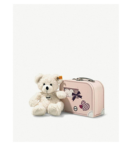 STEIFF 乐天泰迪熊和手提箱28厘米