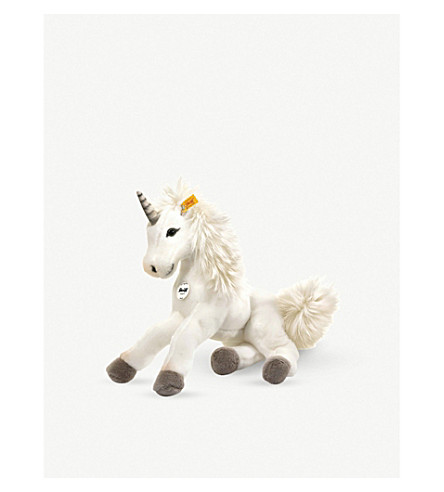 STEIFF Starly Dangling Unicorn soft toy 35cm