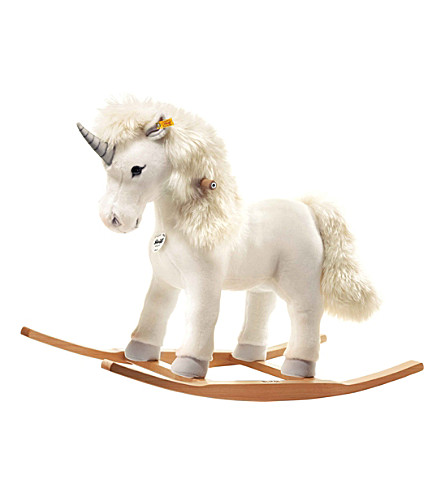 STEIFF Starly unicorn ride-on toy