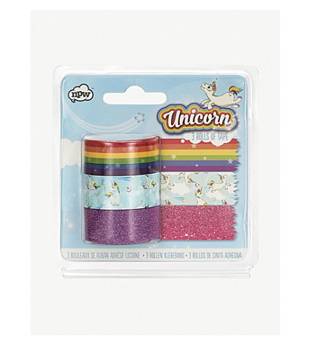 UNICORN UNIVERSE Unicorn tape set of three