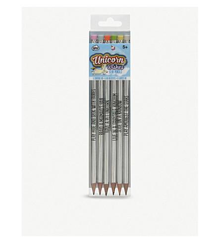 UNICORN UNIVERSE Unicorn wishes holographic pencils