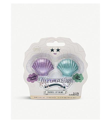 UNICORN UNIVERSE Seashell lip balm set