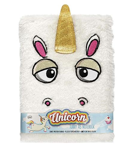 UNICORN UNIVERSE Unicorn furry notebook