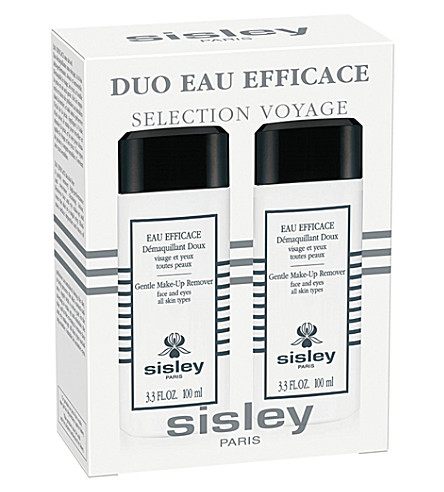 SISLEY Eau Efficace gentle make-up remover travel duo