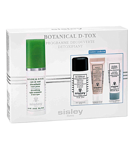 SISLEY Botanical De-Tox discovery program