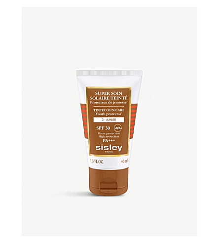 SISLEY Tinted SPF30 sun care cream 40ml (Amber