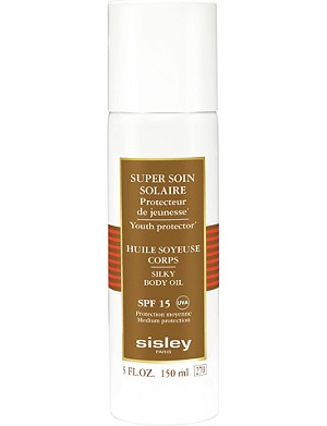 SISLEY Super Soin Solaire Silky Body Oil Sun Care SPF 15 150ml