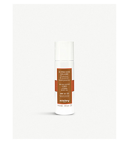 SISLEY Summer body oil spf15