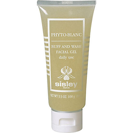 SISLEY Phyto–Blanc Buff & Wash face gel