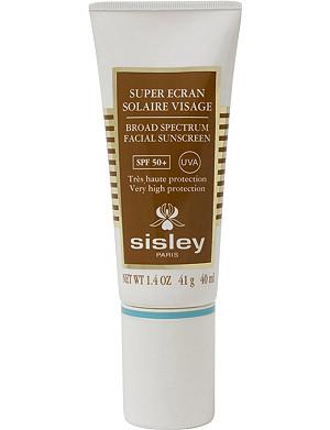 SISLEY Broad Spectrum facial sunscreen 50+