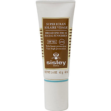 SISLEY Broad Spectrum facial sunscreen 50+
