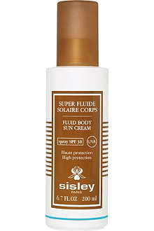 SISLEY Super Fluide Solaire fluid body sun cream SPF 30